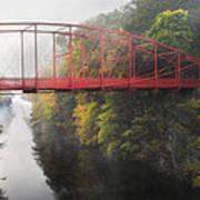Lovers Leap Bridge Art Print