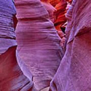 Lower Antelope Canyon Tones And Curves Art Print by Robert Jensen