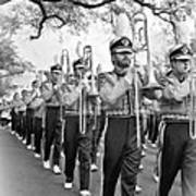 Lsu Marching Band Vignette Art Print