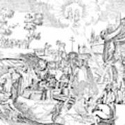 Luther Anniversary, 1617 Art Print
