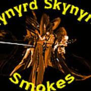 L S Smokes Art Print