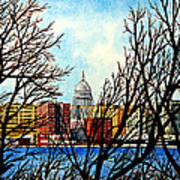 Madison Treed Art Print