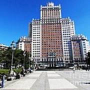 Madrid Building Art Print