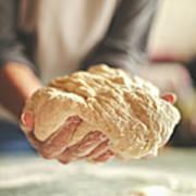Making Yeast Dough Art Print