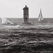 Mangiabarche's Lighthouse Art Print