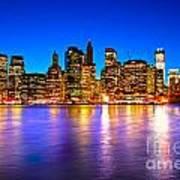 Manhattan - New York City Art Print