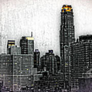 Manhattan View Art Print