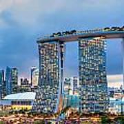 Marina  Bay Sands - Singapore Art Print