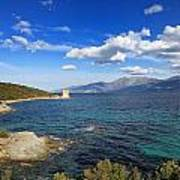 Martello Tower Near St Florent In Corsica Art Print