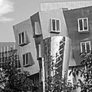 Massachusetts Institute Of Technology Stata Center Art Print