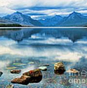 Mcdonald Lake Art Print