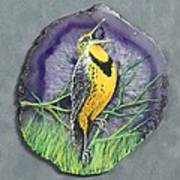 Meadow Soloist I Art Print