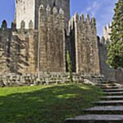 Medieval Castle Keep Art Print