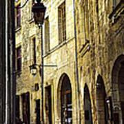 Medieval Street In France Art Print