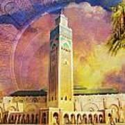 Medina Of Marakkesh Art Print by Catf