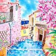 Mediterranean Wind Art Print
