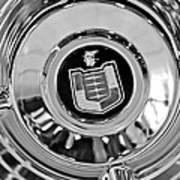 Mercury Wheel Emblem Art Print