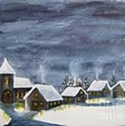 Merry Christmas 1  Art Print