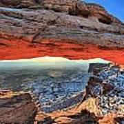 Mesa Arch Frame Art Print