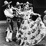 Mexican Folk Dance Art Print