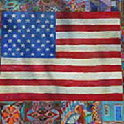 Mi Flag Art Print