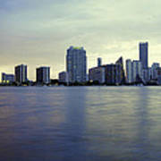 Miami Downtown Art Print