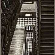 Michigan Capitol Stairwell Art Print