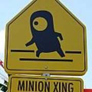 Minion Crossing Art Print