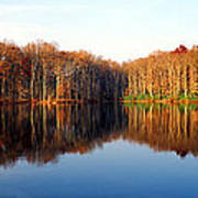 Mirror Lake Panoramic Art Print