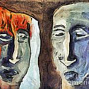 Mirroring - Retrospect Art Print