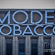 Model Tobacco Building Art Print