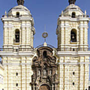 Monastery Of San Francisco - Lima Peru Art Print