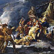 Montgomerys Death, 1775 Art Print
