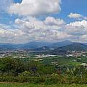 Montorfano. A View To Lake Iseo Art Print