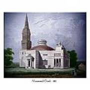 Monumental Church - 1812 Art Print
