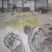 Moose Is Loose Album Art Print