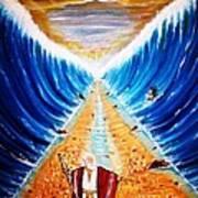 Moses. Art Print
