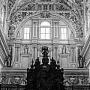 Mosque Cathedral Of Cordoba  Art Print