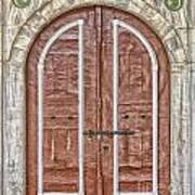 Mosque Doors 09 Art Print
