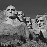 Mount Rushmore Art Print by Frank Romeo