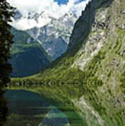 Mountainscape Art Print by Frank Tschakert