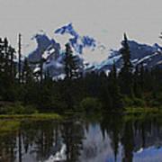 Mt Baker Washington  Art Print