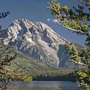 Mt. Moran And Jenny Lake Art Print