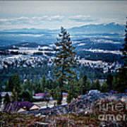 Mt Spokane Art Print