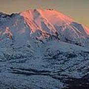 Mt. St. Helens Sunset Art Print