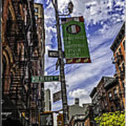 Mulberry St - Nyc Art Print