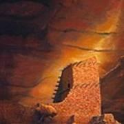 Mummy Cave Ruins Art Print
