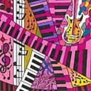Musical Wonderland Art Print