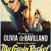My Cousin Rachel, Olivia De Havilland Art Print