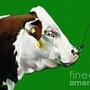 My Favorite Bull Art Print